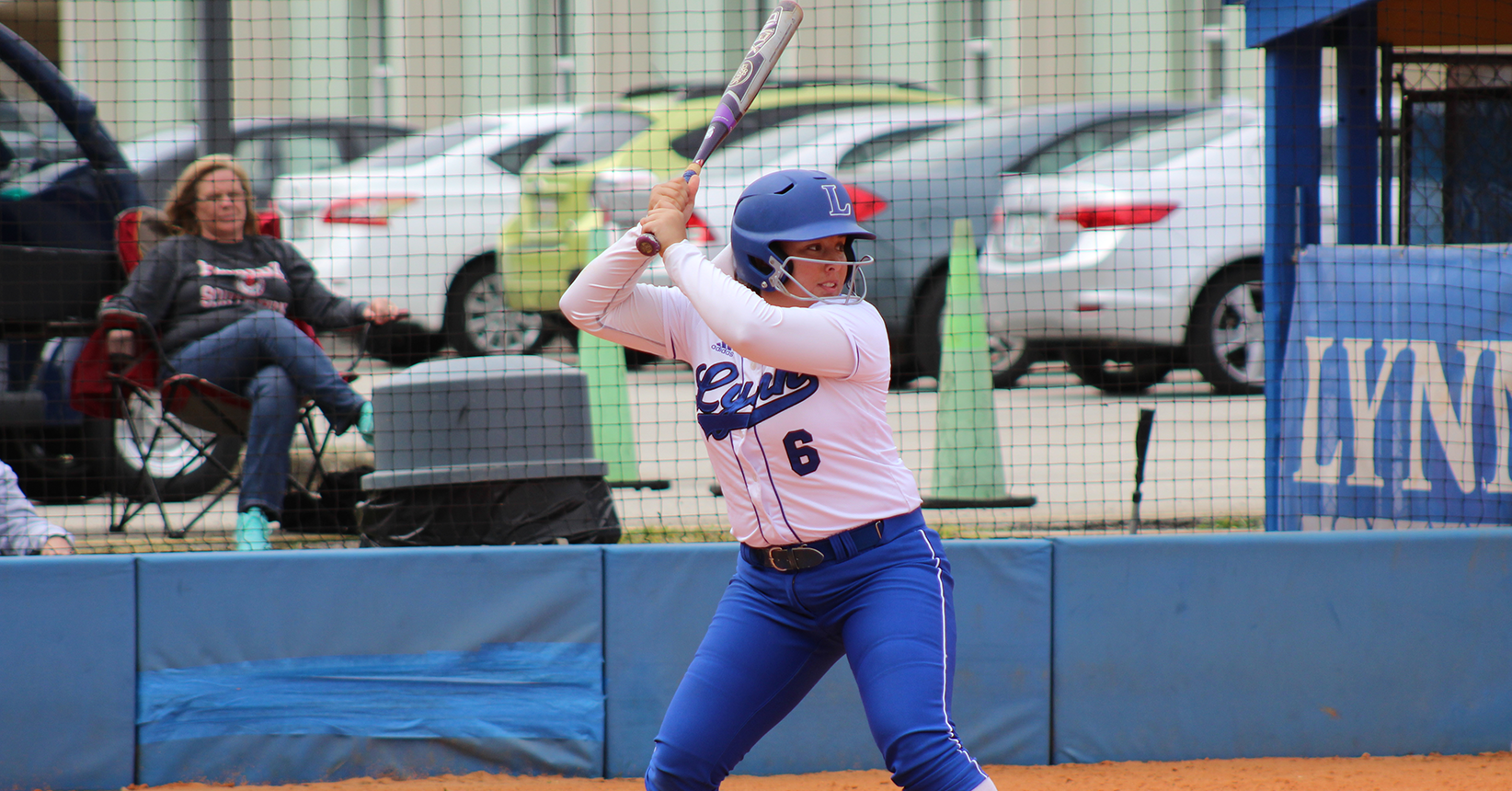 Lynn Softball Falls to Florida Southern before Running Out of Daylight
