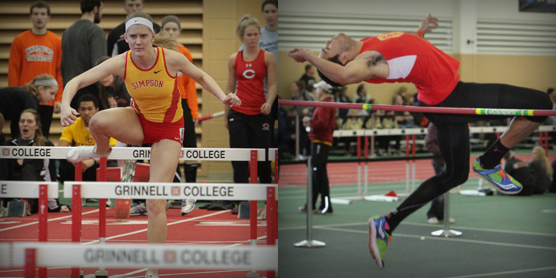 Fleshner gets fourth all-IIAC honor to close Indoor Championship