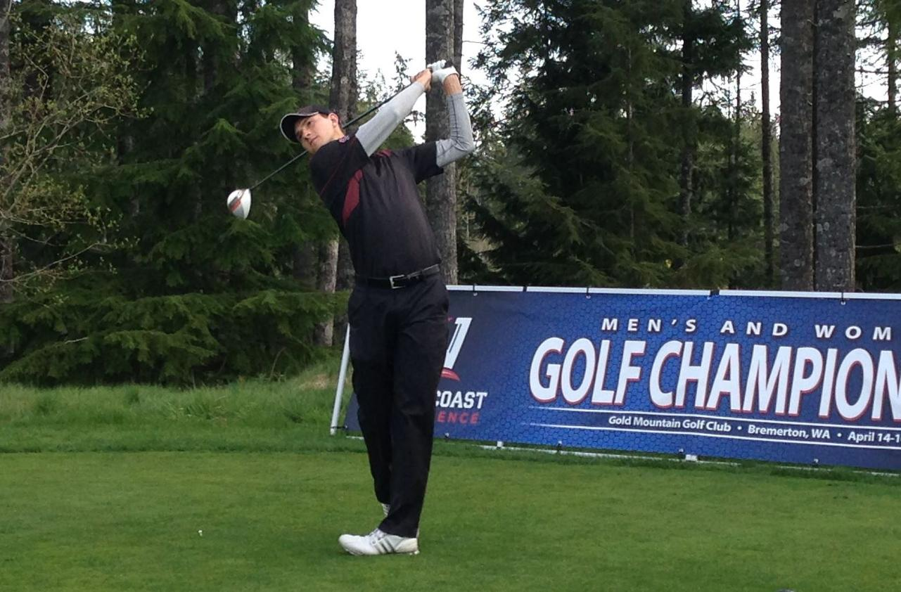 Men's Golf Tied For Second, Three Shots Back After Two Rounds Of WCC Championship