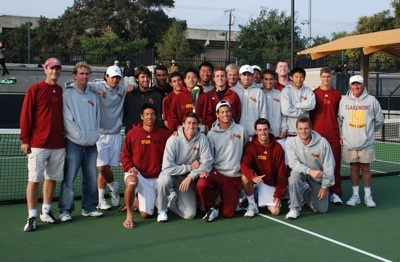 Men's Tennis Wins Stag-Hen Invitational