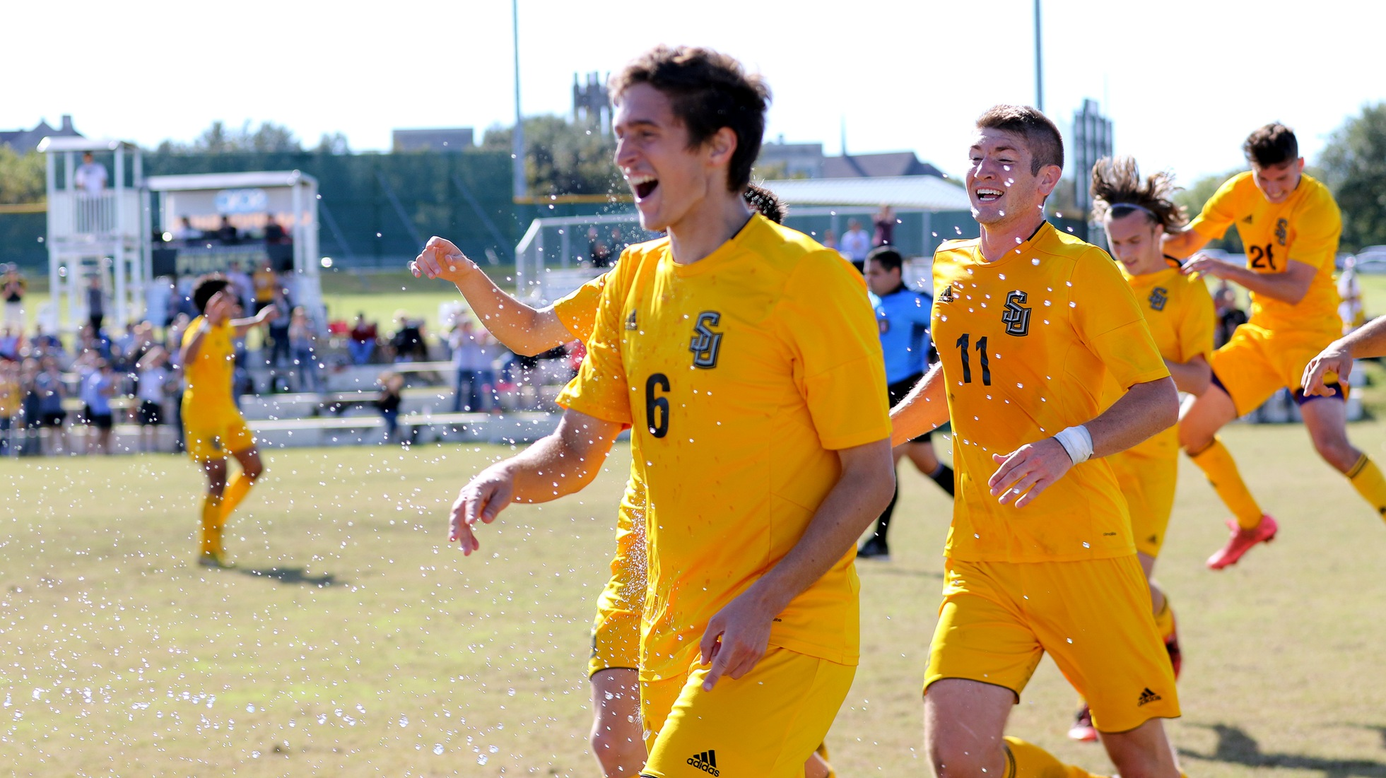 Men's Soccer Shuts Down Austin College To Advance In SCAC Tournament