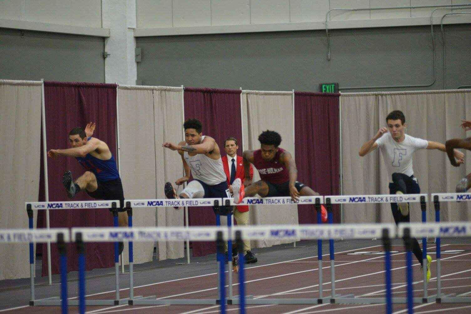 Doty Wins High Jump, Men Finish Fifth at Rose-Hulman