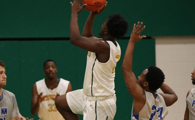 Cameron Winston (2) led all scored with 23 points as Keuka defeated Penn College