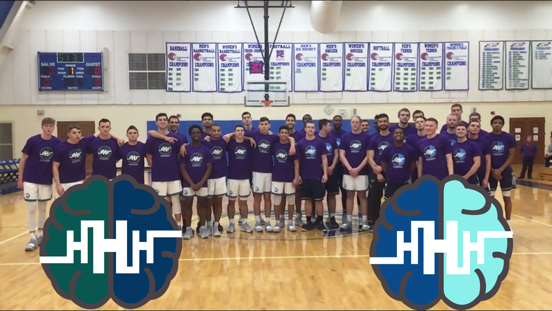 The Commonwealth Coast Conference teamed up with Hope Happens Here to sponsor a league-wide awareness night to combat the stigma that surrounds mental health.