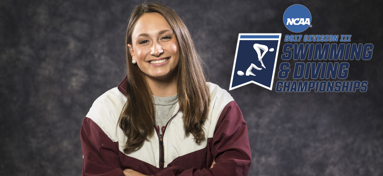 Medeiros To Represent Springfield College at NCAA Division III Swimming and Diving Championships