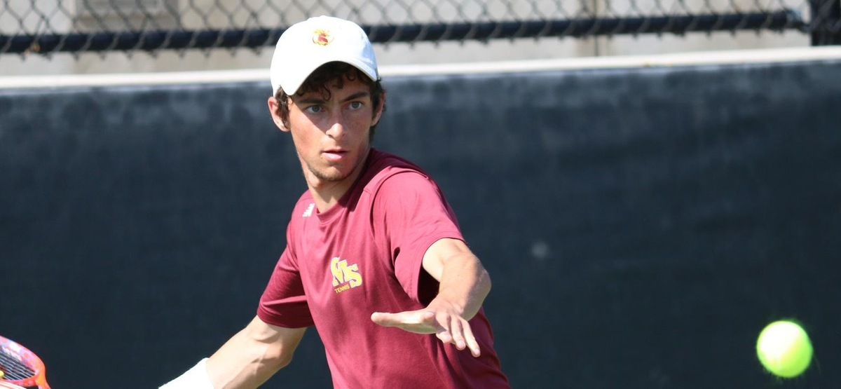 Jack Katzman enters the NCAA Tournament with an undefeated dual record in singles