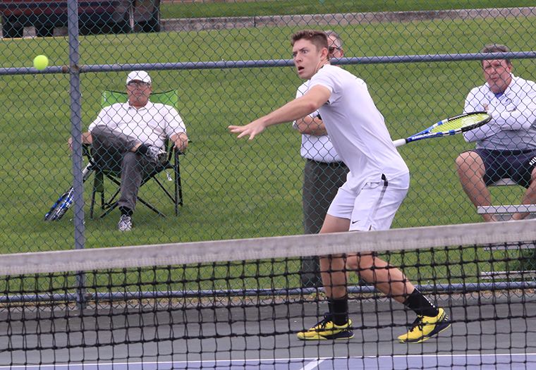 Spartan Men Earn CAC Win at Harrisburg