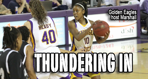Golden Eagles return home Wednesday as they host the Marshall Thundering Herd