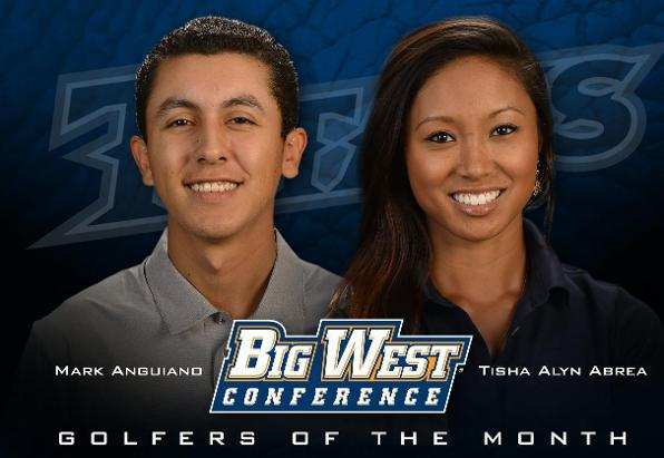 September Big West Golfers of the Month