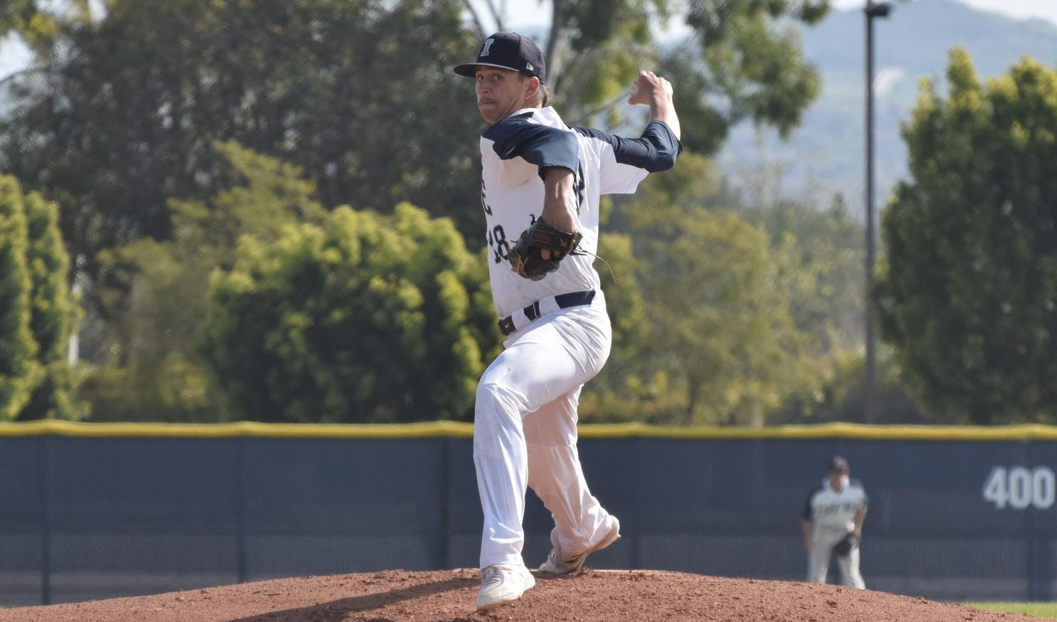 Dunham pitches another gem as baseball team shuts out East LA