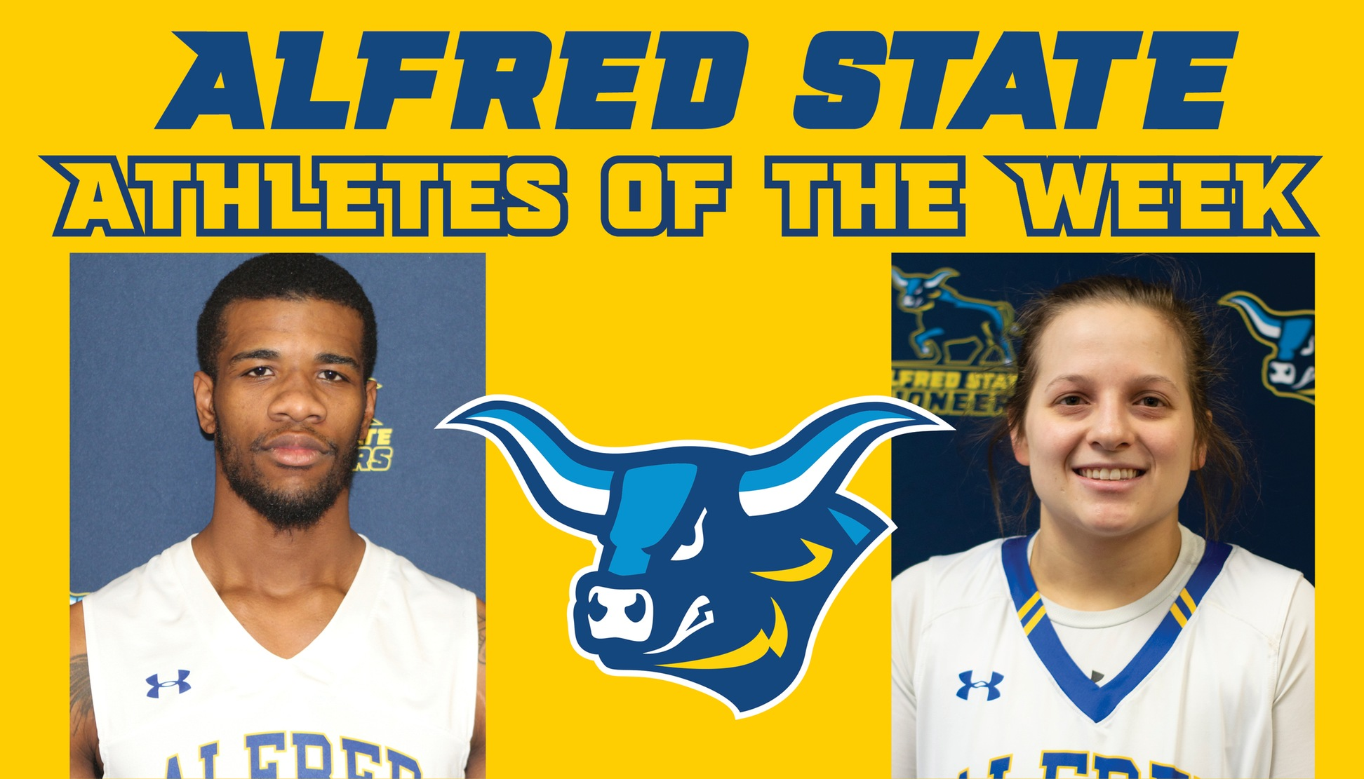Ray Anderson and Taj Lewis named athletes of the week.