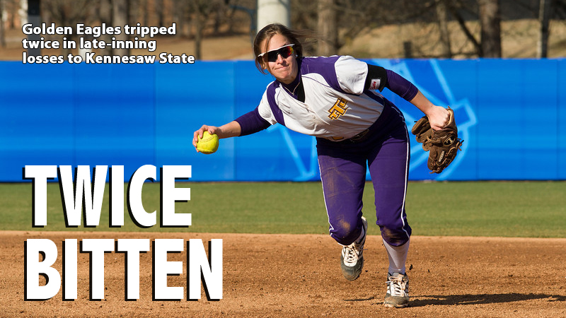Kennesaw rallies late to steal two games from Tennessee Tech