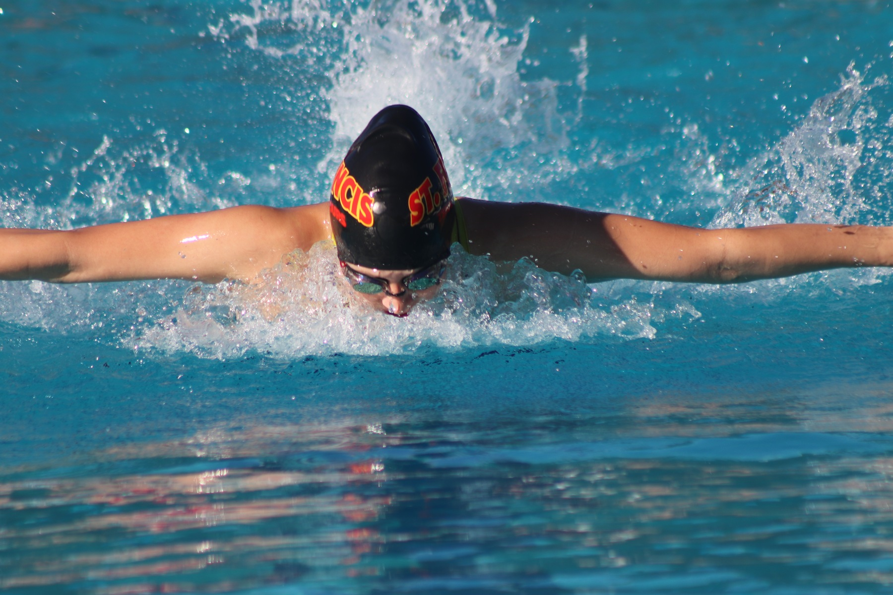 Swimming Finishes Second at Delta League Championships