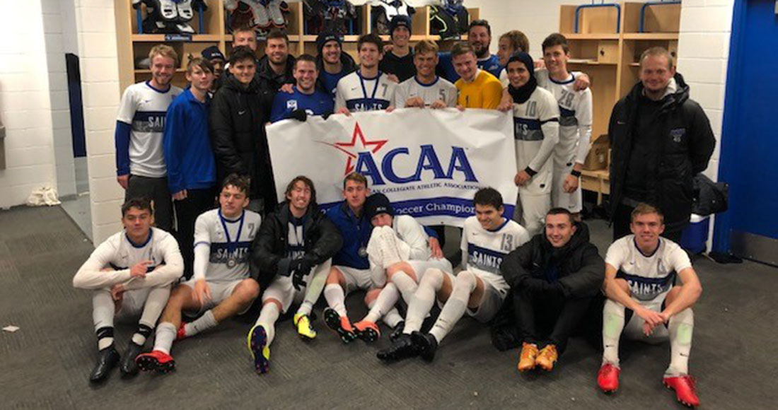 Men's Soccer Clinches ACAA Championship off PK's