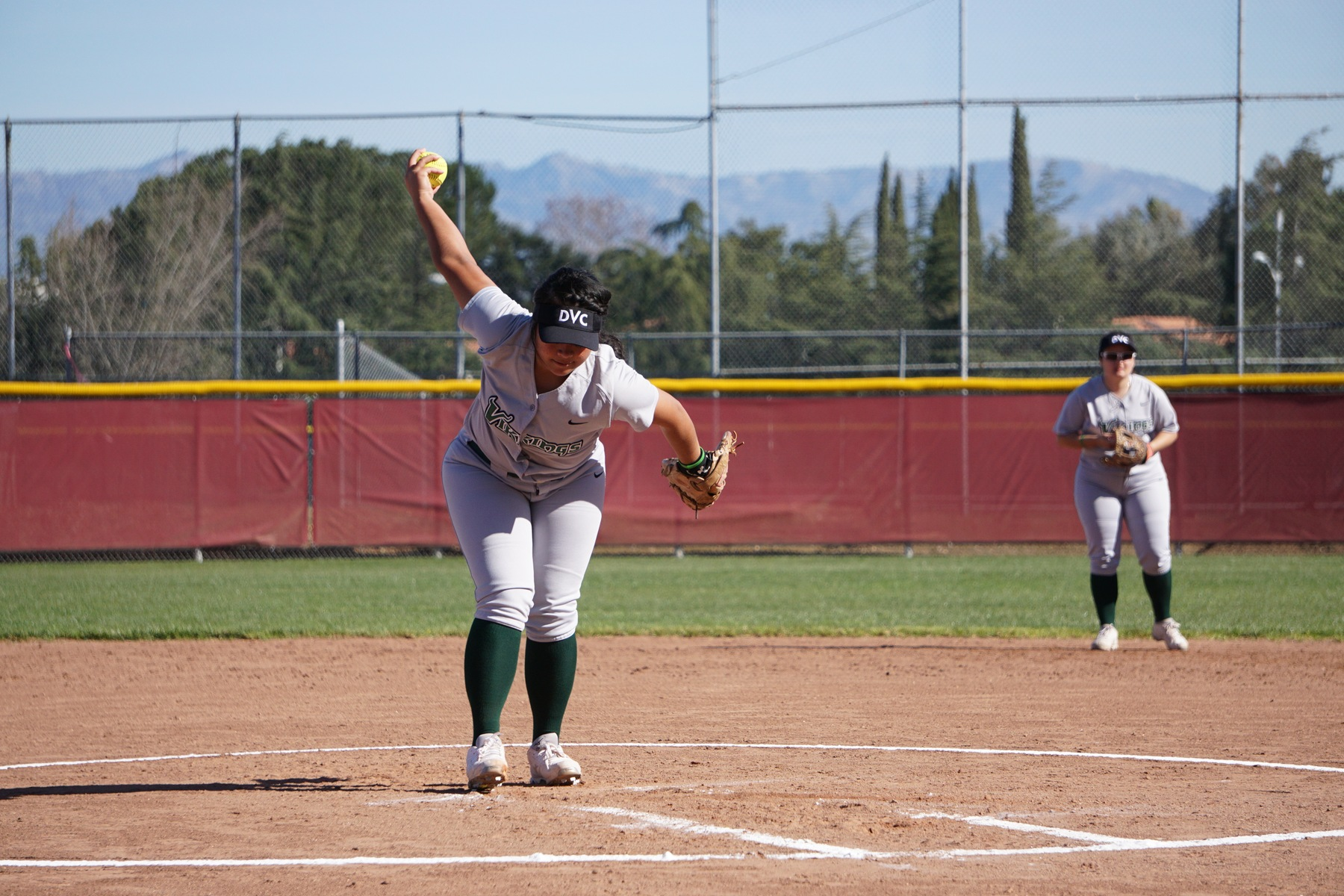 DVC Softball gets the win over Ohlone College