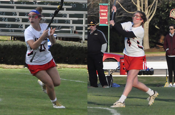2017-18 in Review: LaCavera, Gilbrook named to USA South Women's Lacrosse All-Conference team