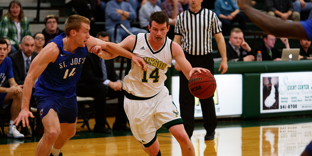 Men's Basketball Storms by Colby Sawyer 86-70