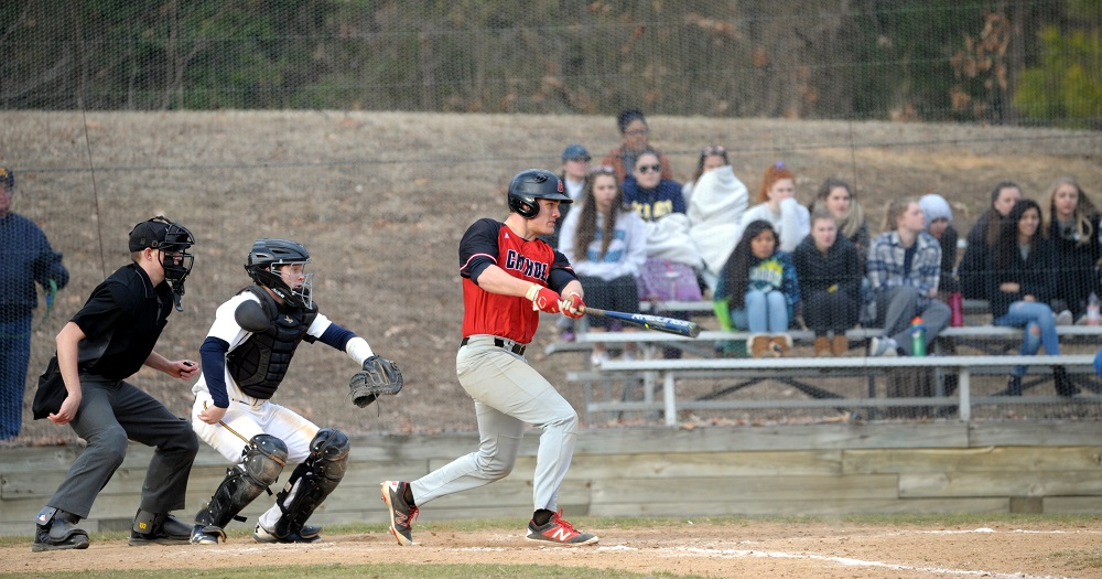Cardinals Split Sunday Doubleheader with Blazers