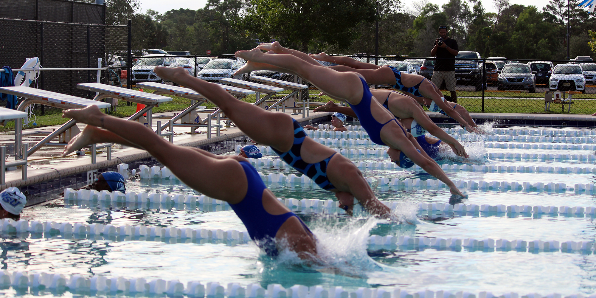 Big Night Puts Swimming in Second at SCAD Invite