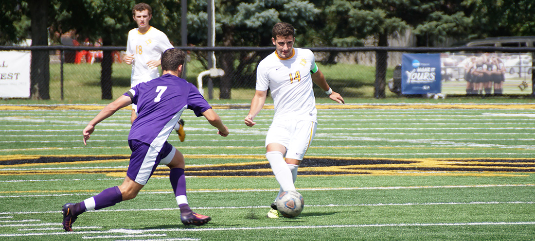 Men's Soccer Drops 5-2 Decision At Ohio Valley