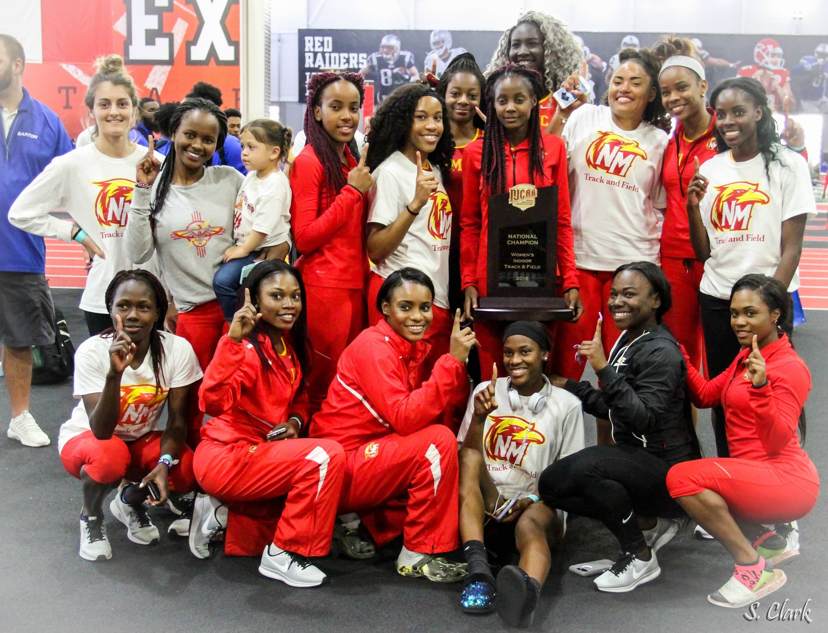 NMJC women's track squad wins national championship again