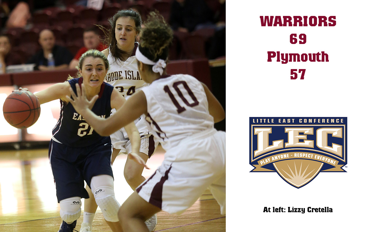 Women's Basketball: Warriors Win 19th Straight at PSU, Roll to 69-57 Little East Win
