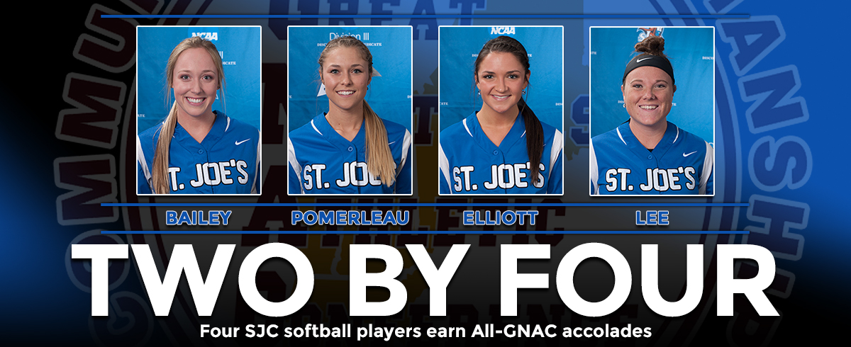 Four SJC Softball Players Earn All-GNAC Honors