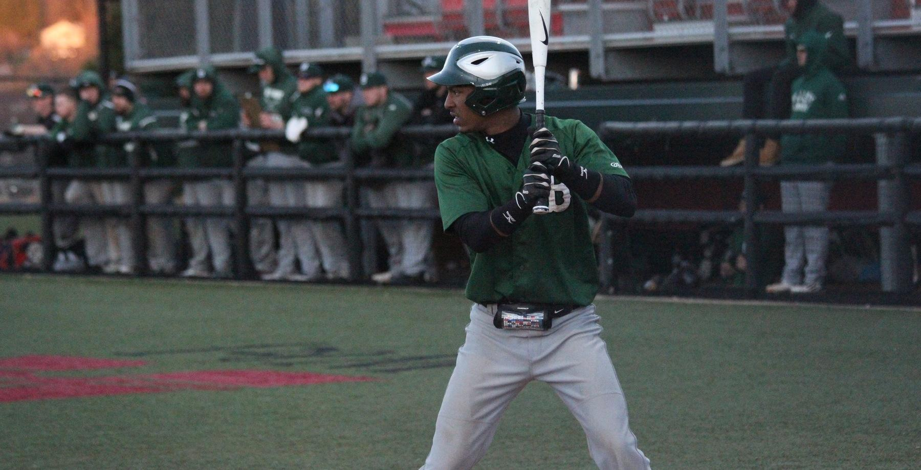Bison score four in the ninth inning to knock off Westminster 7-5