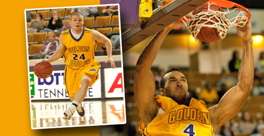 """New look"" Golden Eagles overwhelm Carson-Newman"