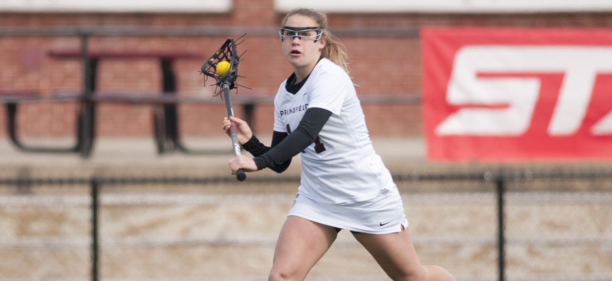 Women's Lacrosse Remains Unbeaten in NEWMAC Play With 16-5 Win Over Mount Holyoke
