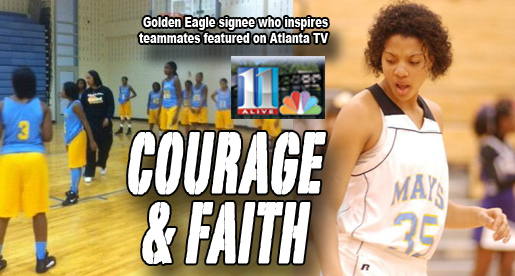 Story of Tech signee Mariah Dean featured on Atlanta television