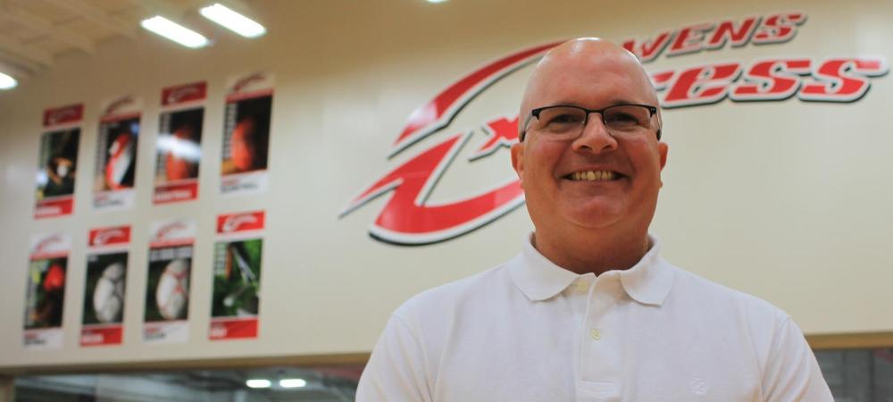 J.D. Ettore has been named the athletic director at Owens. Photo by Nicholas Huenefeld/Owens Sports Information