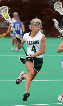 Women's Lacrosse Throttles Wellesley, 21-7, In NEWMAC Semifinals