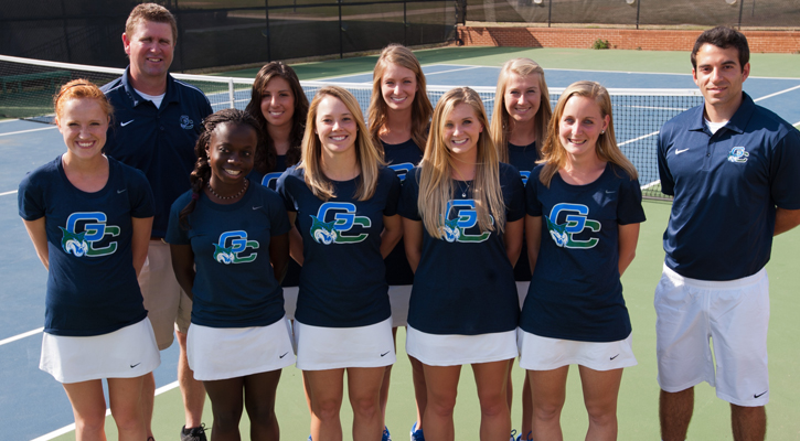 Bobcat Women's Tennis Leads Department in 11-12 GPA