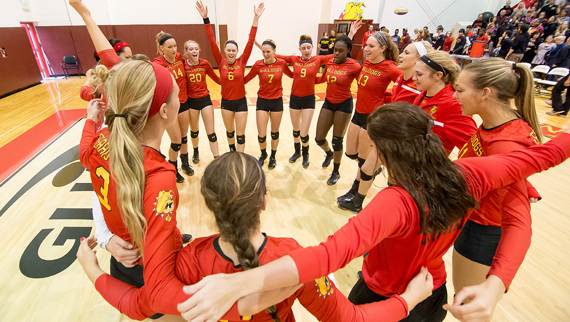 Ferris State Volleyball Notches Seventh-Straight Victory As 'Dawgs Finish Weekend Sweep