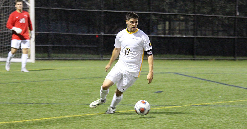 Men's Soccer Shuts Out Curry in CCC Opener