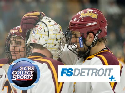 Ferris State is scheduled to appear twice on CBS College Sports and once on FS Detroit Plus this season.