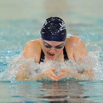 Swimming & Diving Finishes 2nd at Seven Sisters Championship