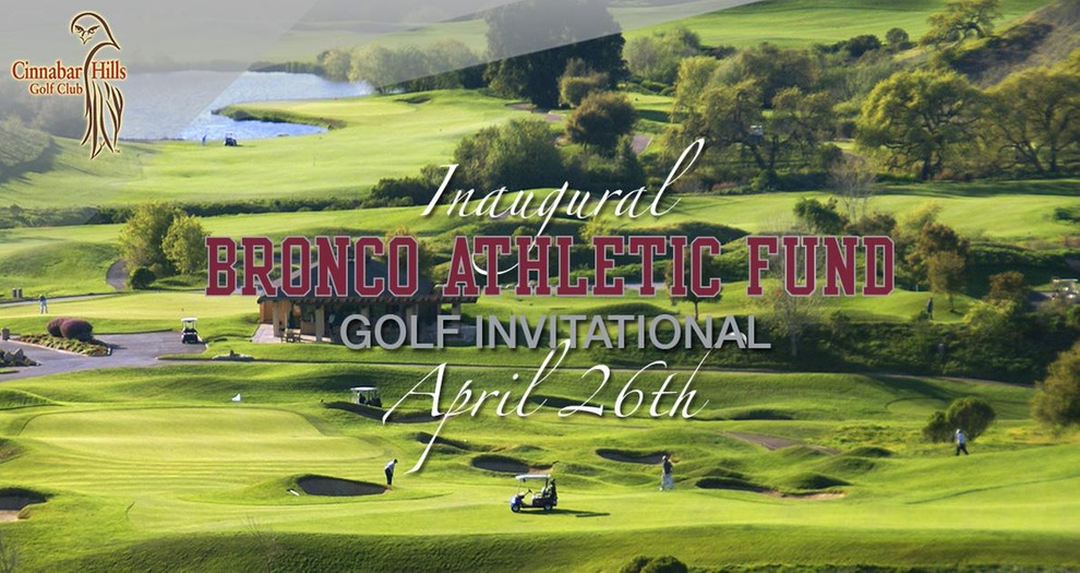Time Winding Down to Sponsor, Register for Bronco Athletic Fund Golf Invitational