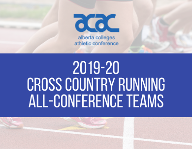 Presenting the 2019-20 ACAC Cross Country Running All-Conference Teams