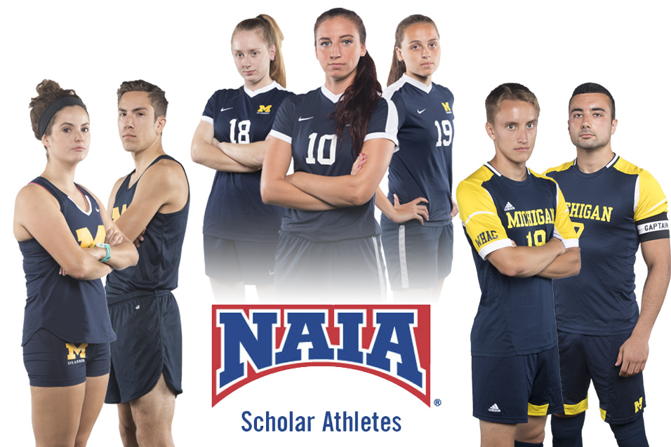 SEVEN WOLVERINES NAMED NAIA SCHOLAR ATHLETE