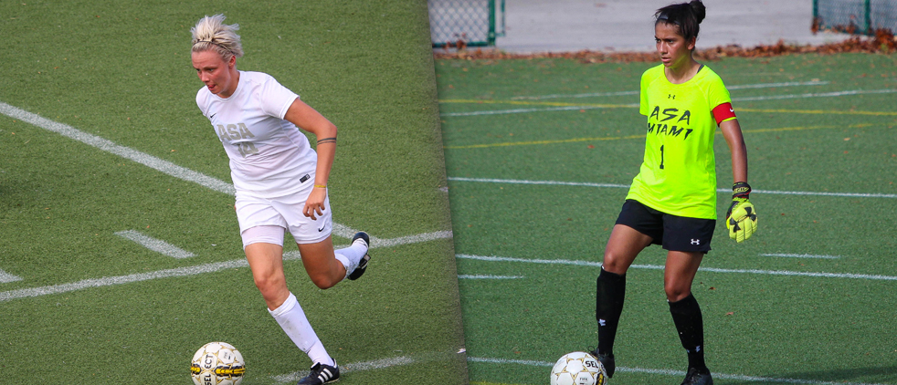 Two Members of Lady Storm Soccer Team Earn All-Region Selections