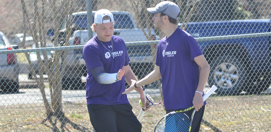 Men's Tennis Team Edges LeTourneau In Spring's First ASC Action
