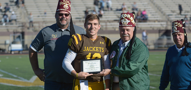 Jake Hudson Named BW 40th Lee Tressel Shrine Classic Player of the Game