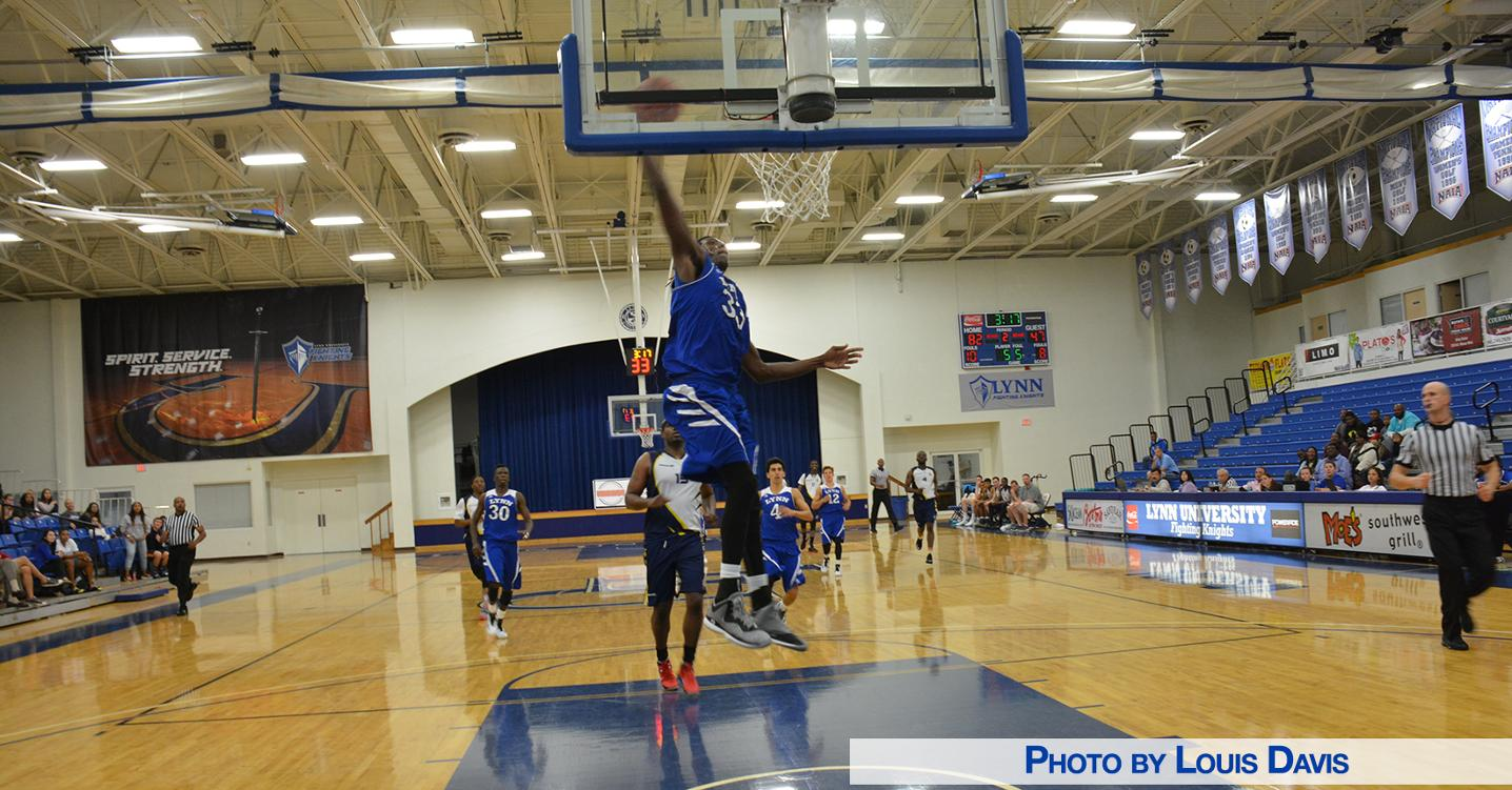 Men's Basketball Shows-Off in Exhibition Rout