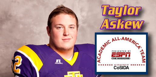 Taylor Askew voted first-team Academic All-District