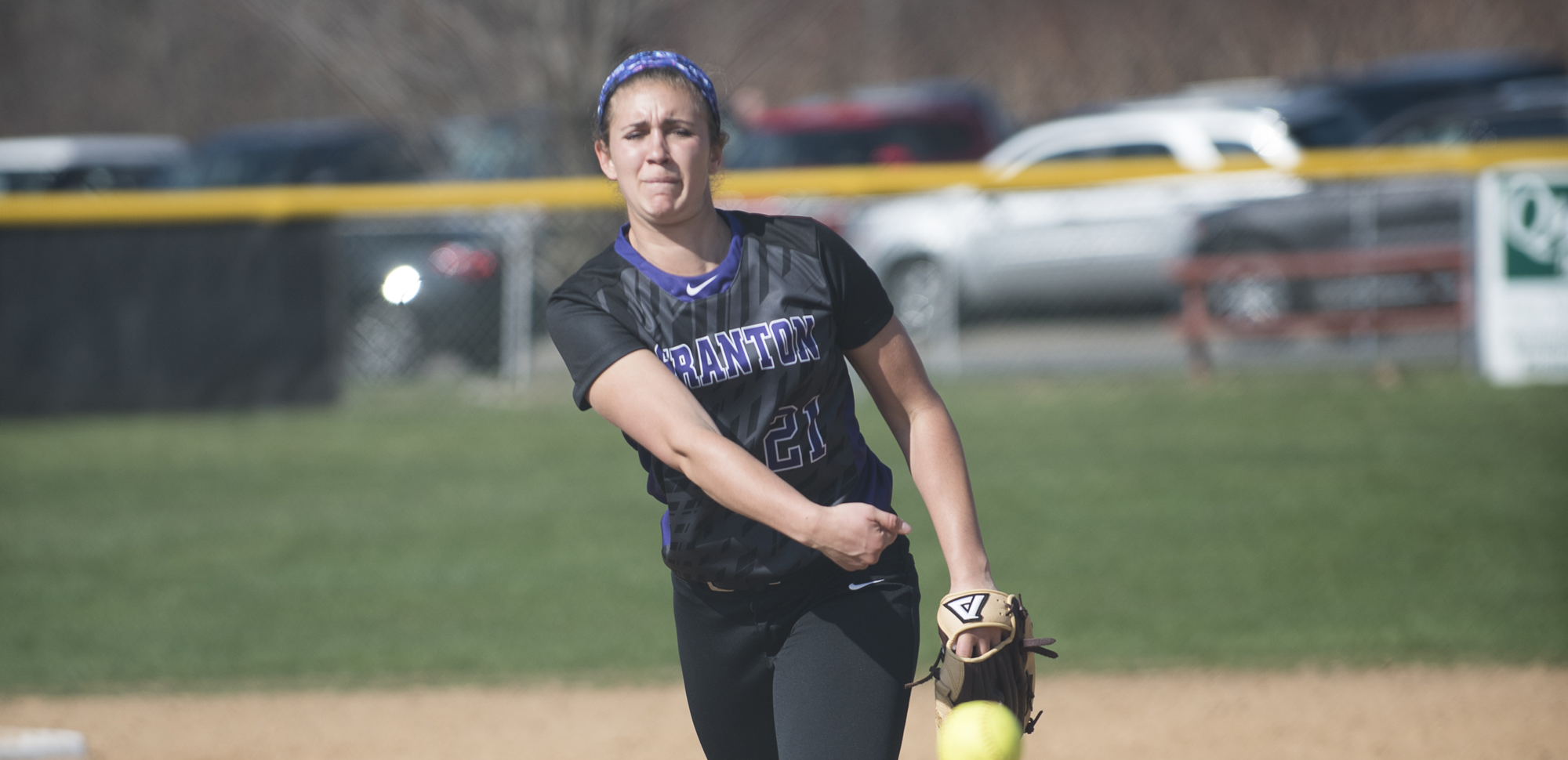 Morgan Rentzheimer tossed a complete game shutout in Scranton's 1-0 win over Concordia in Wednesday's first game.