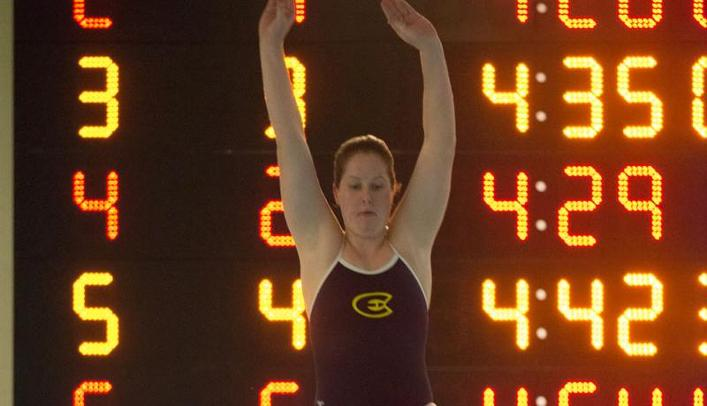 Sara Axness Sets School Record at NCAA Diving Regional