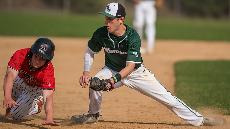 Baseball Suffers Sunday Sweep To Raiders