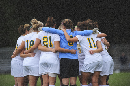 Women's soccer postponed